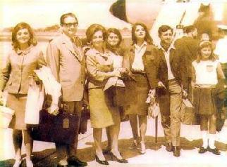 Alvaro Noboa - Familia Noboa Pontón: Ma.Elena, Luis A. Noboa, Isabel Pontón, Diana, Isabel, Alvaro y Ma. Leonor.